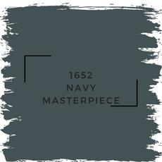 Benjamin Moore 1652 Navy Masterpiece