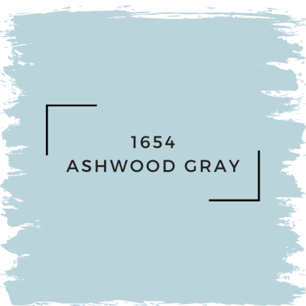 Benjamin Moore 1654 Ashwood Gray