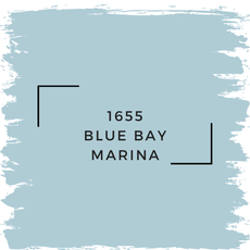 Benjamin Moore 1655 Blue Bay Marina