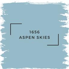Benjamin Moore 1656 Aspen Skies