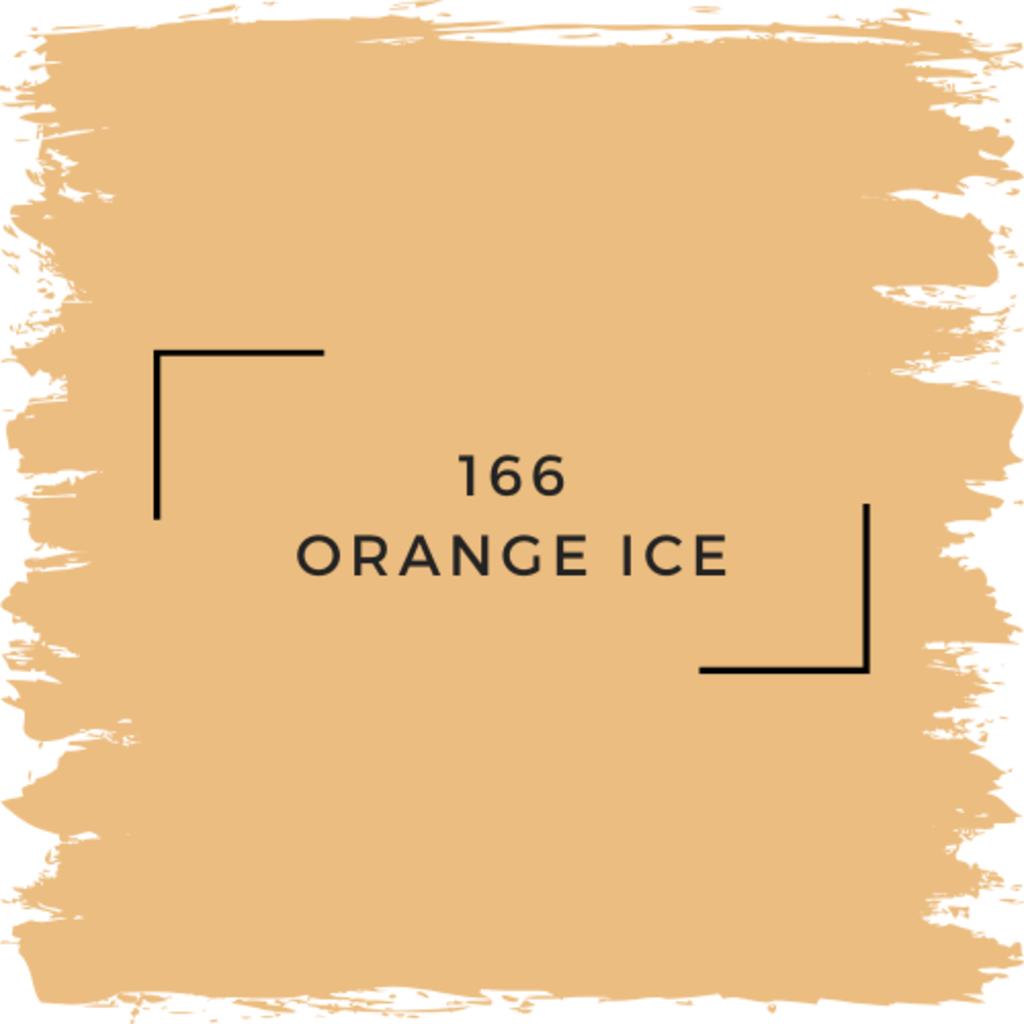 Benjamin Moore 166 Orange Ice