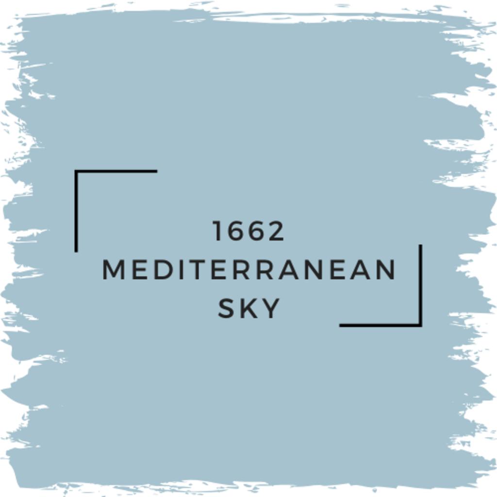 Benjamin Moore 1662 Mediterranean Sky