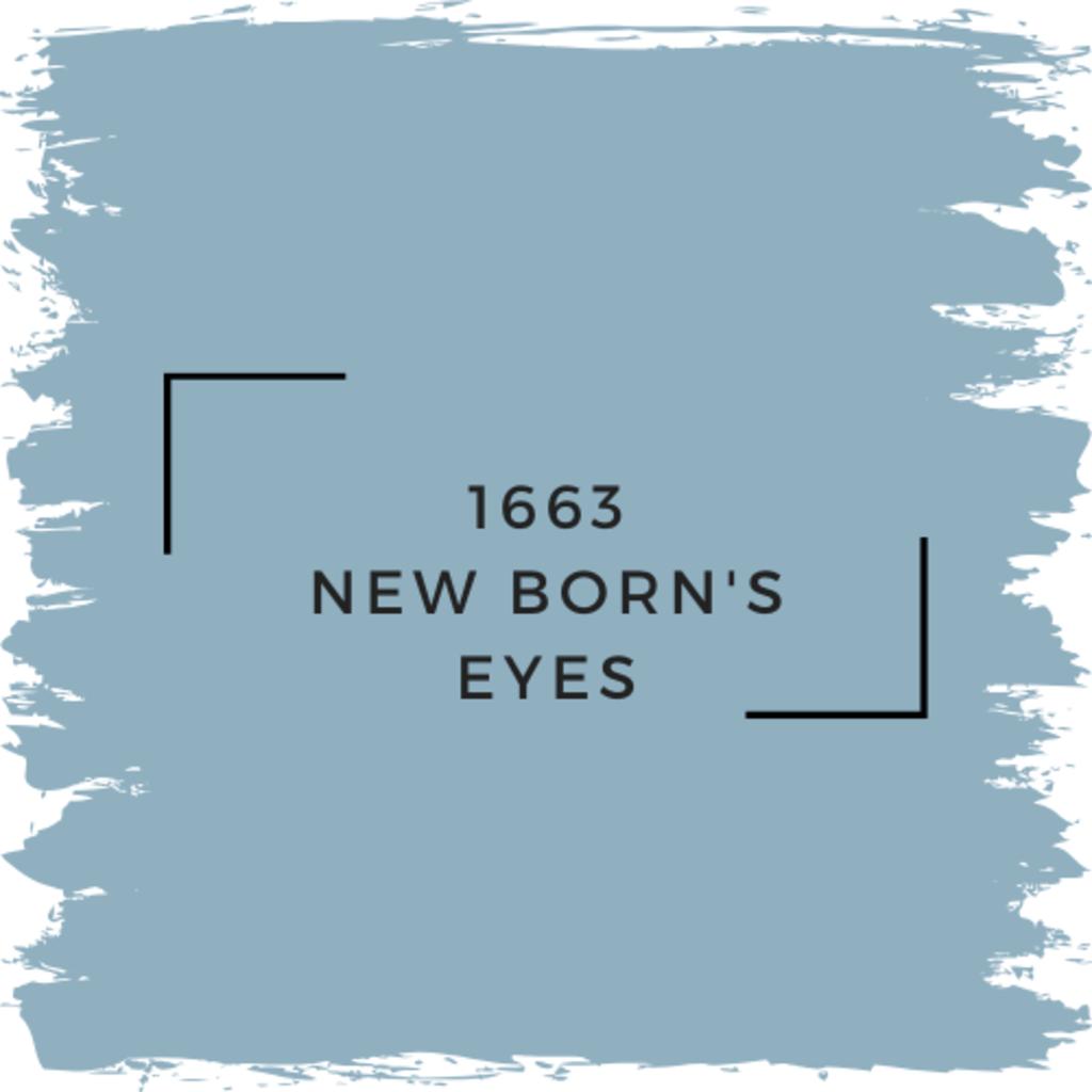 Benjamin Moore 1663 New Born's Eyes