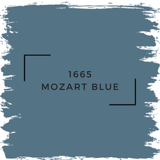 Benjamin Moore 1665 Mozart Blue