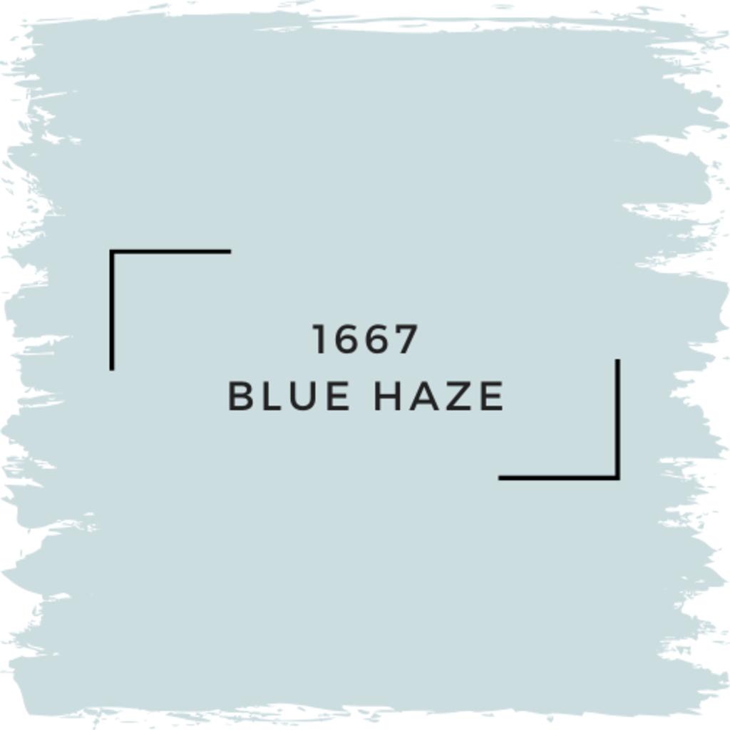 Benjamin Moore 1667 Blue Haze