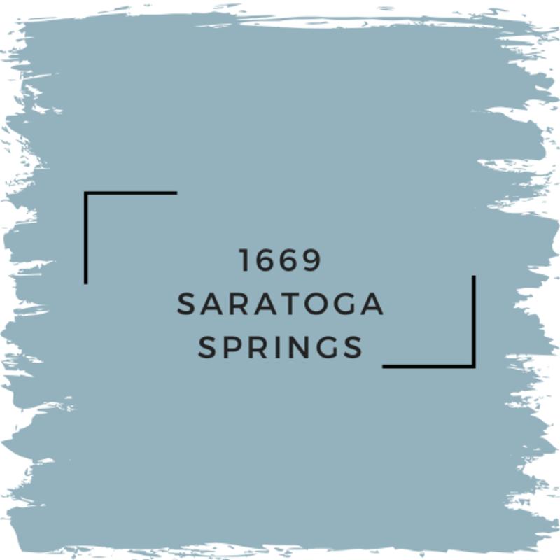 Benjamin Moore 1669 Saratoga Springs