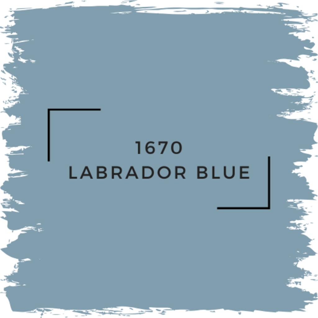 Benjamin Moore 1670 Labrador Blue