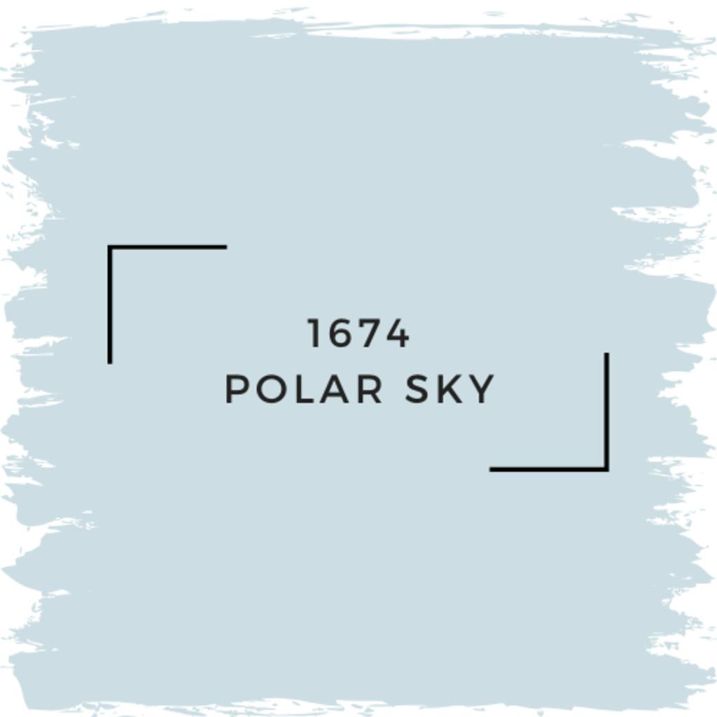Benjamin Moore 1674 Polar Sky