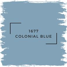 Benjamin Moore 1677 Colonial Blue