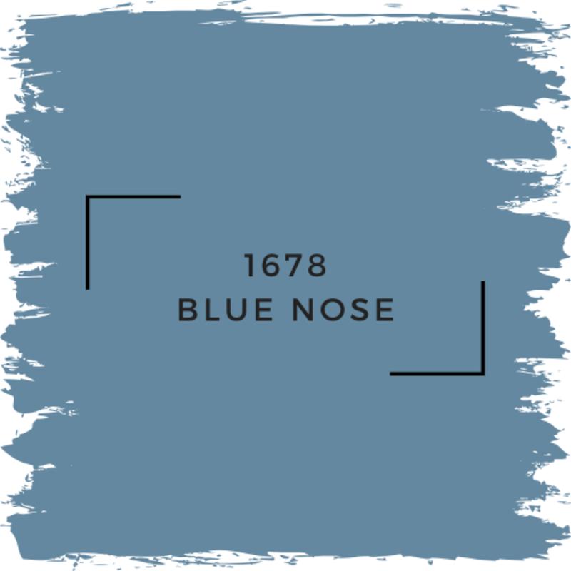 Benjamin Moore 1678 Blue Nose