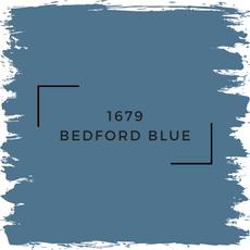 Benjamin Moore 1679 Bedford Blue