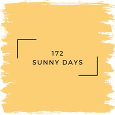 Benjamin Moore 172 Sunny Days