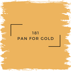 Benjamin Moore 181 Pan For Gold