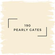 Benjamin Moore 190 Pearly Gates