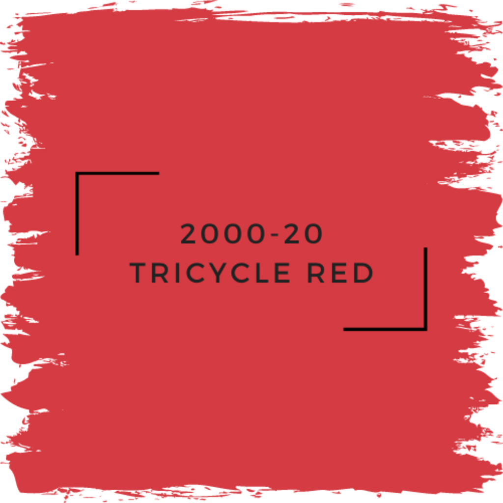 Benjamin Moore 2000-20 Tricycle Red