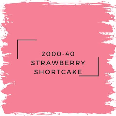 Benjamin Moore 2000-40 Strawberry Shortcake