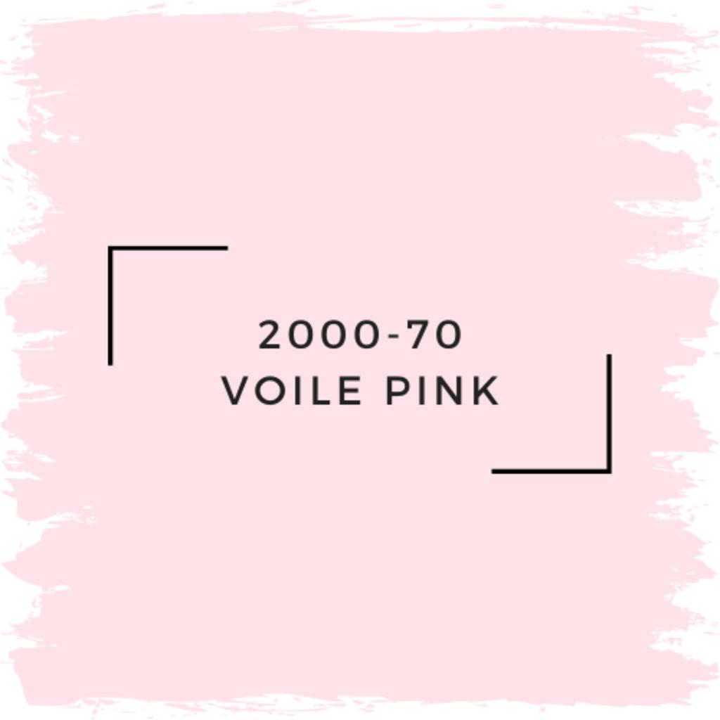 Benjamin Moore 2000-70 Voile Pink
