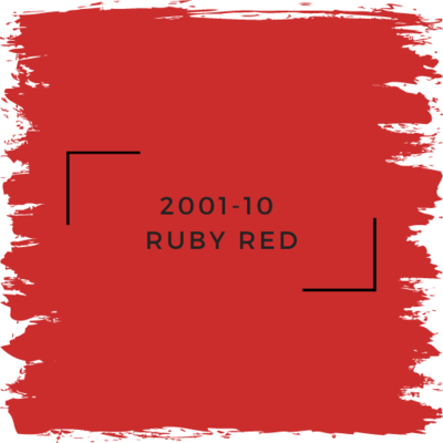 Benjamin Moore 2001-10  Ruby Red