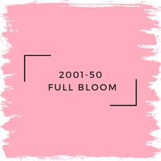 Benjamin Moore 2001-50  Full Bloom