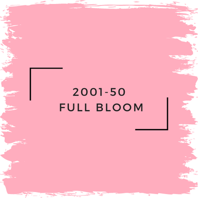 Benjamin Moore 2001-50  Full Bloom