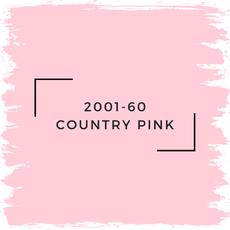 Benjamin Moore 2001-60 Country Pink