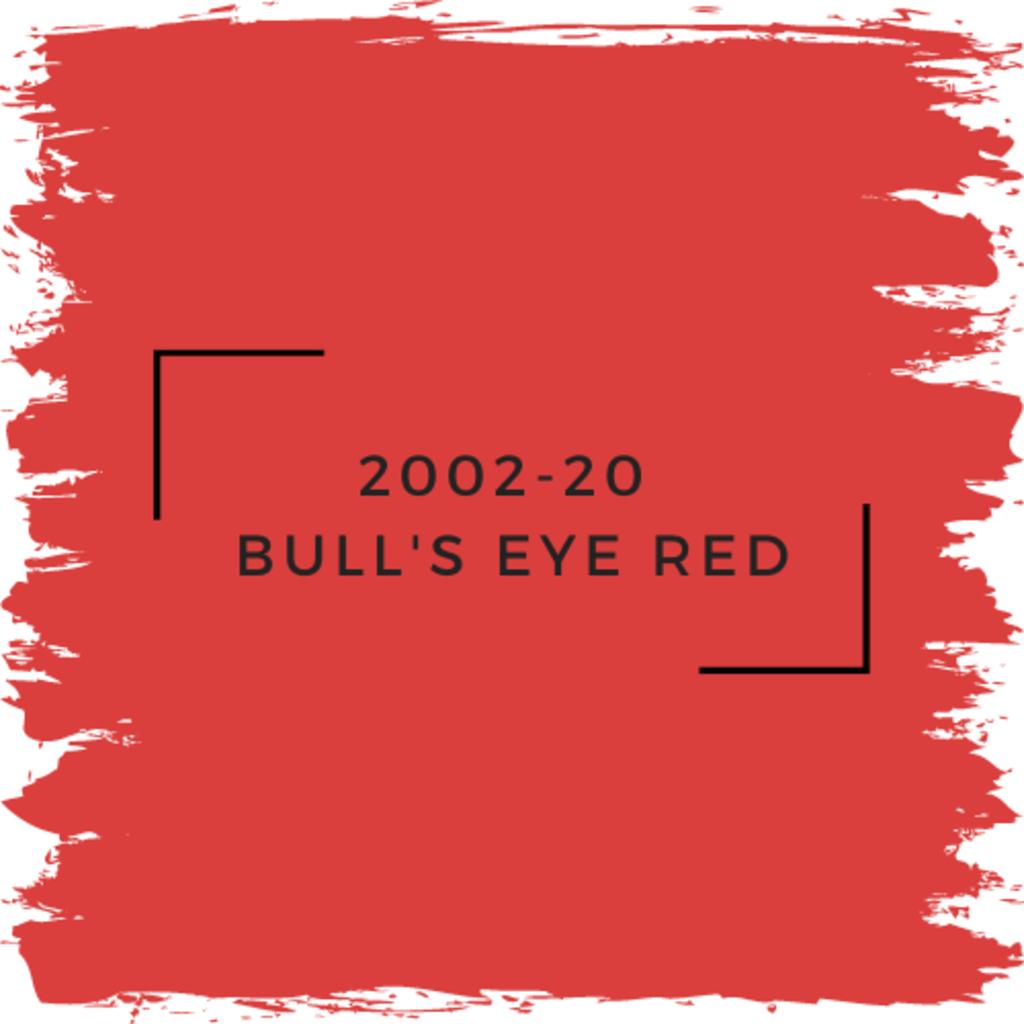 Benjamin Moore 2002-20  Bull's Eye Red