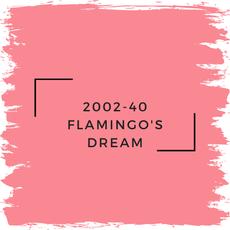 Benjamin Moore 2002-40 Flamingo's Dream