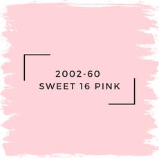 Benjamin Moore 2002-60  Sweet 16 Pink