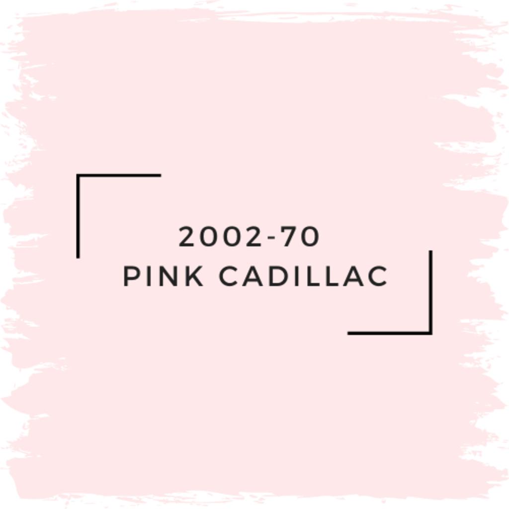 Benjamin Moore 2002-70  Pink Cadillac