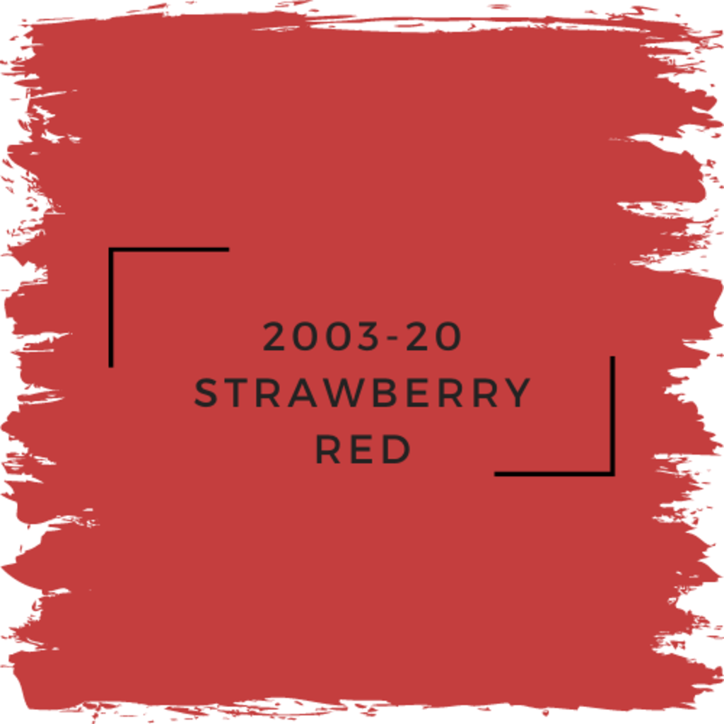 Benjamin Moore 2003-20 Strawberry Red