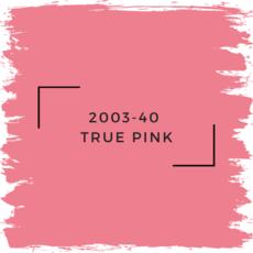 Benjamin Moore 2003-40  True Pink