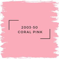 Benjamin Moore 2003-50  Coral Pink