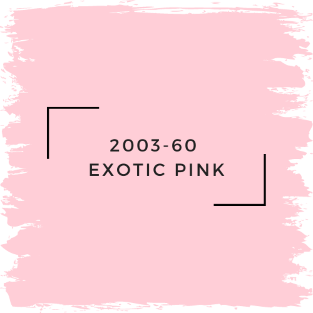 Benjamin Moore 2003-60  Exotic Pink