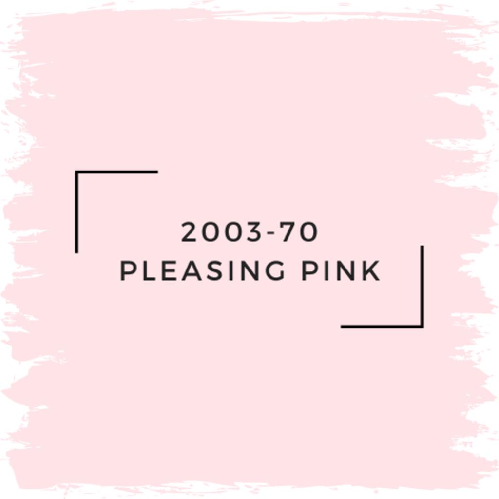 Benjamin Moore 2003-70 Pleasing Pink