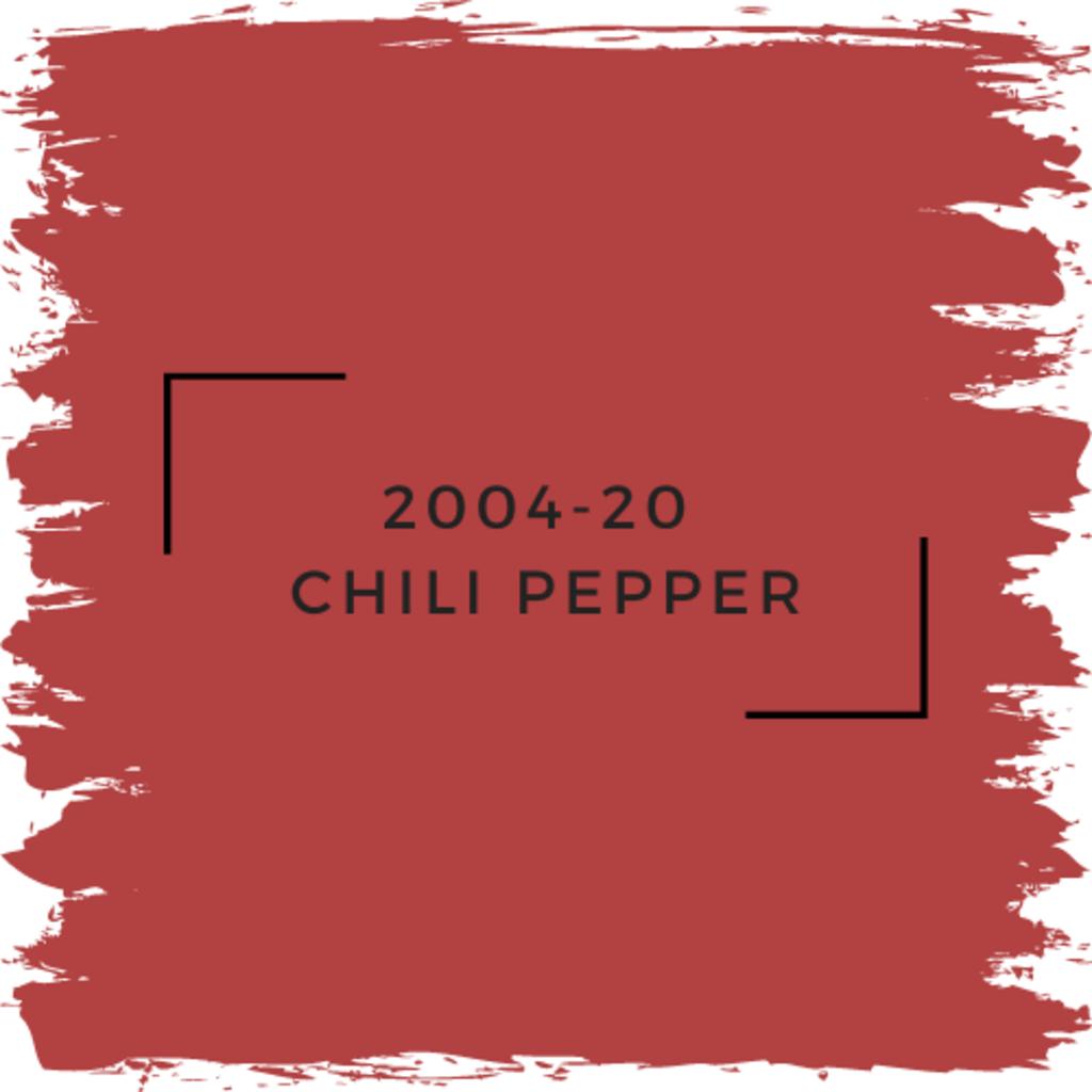 Benjamin Moore 2004-20  Chili Pepper