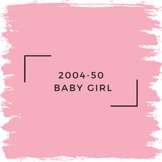 Benjamin Moore 2004-50  Baby Girl