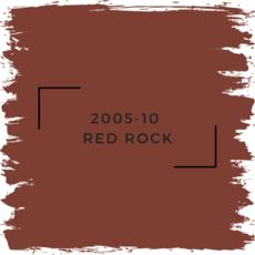 Benjamin Moore 2005-10  Red Rock