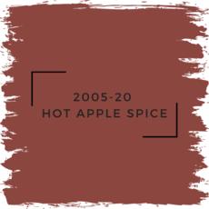 Benjamin Moore 2005-20  Hot Apple Spice