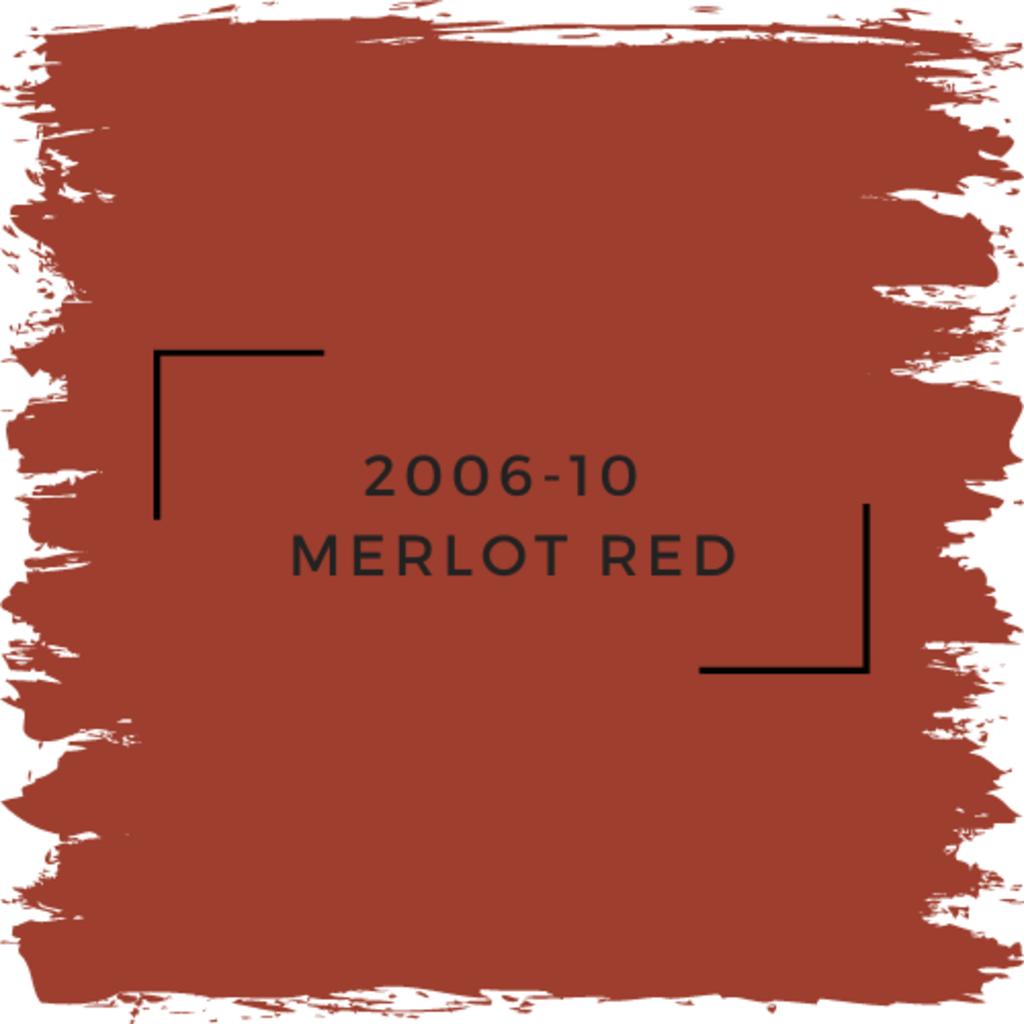 Benjamin Moore 2006-10  Merlot Red