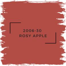 Benjamin Moore 2006-30  Rosy Apple