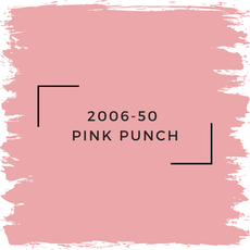 Benjamin Moore 2006-50  Pink Punch
