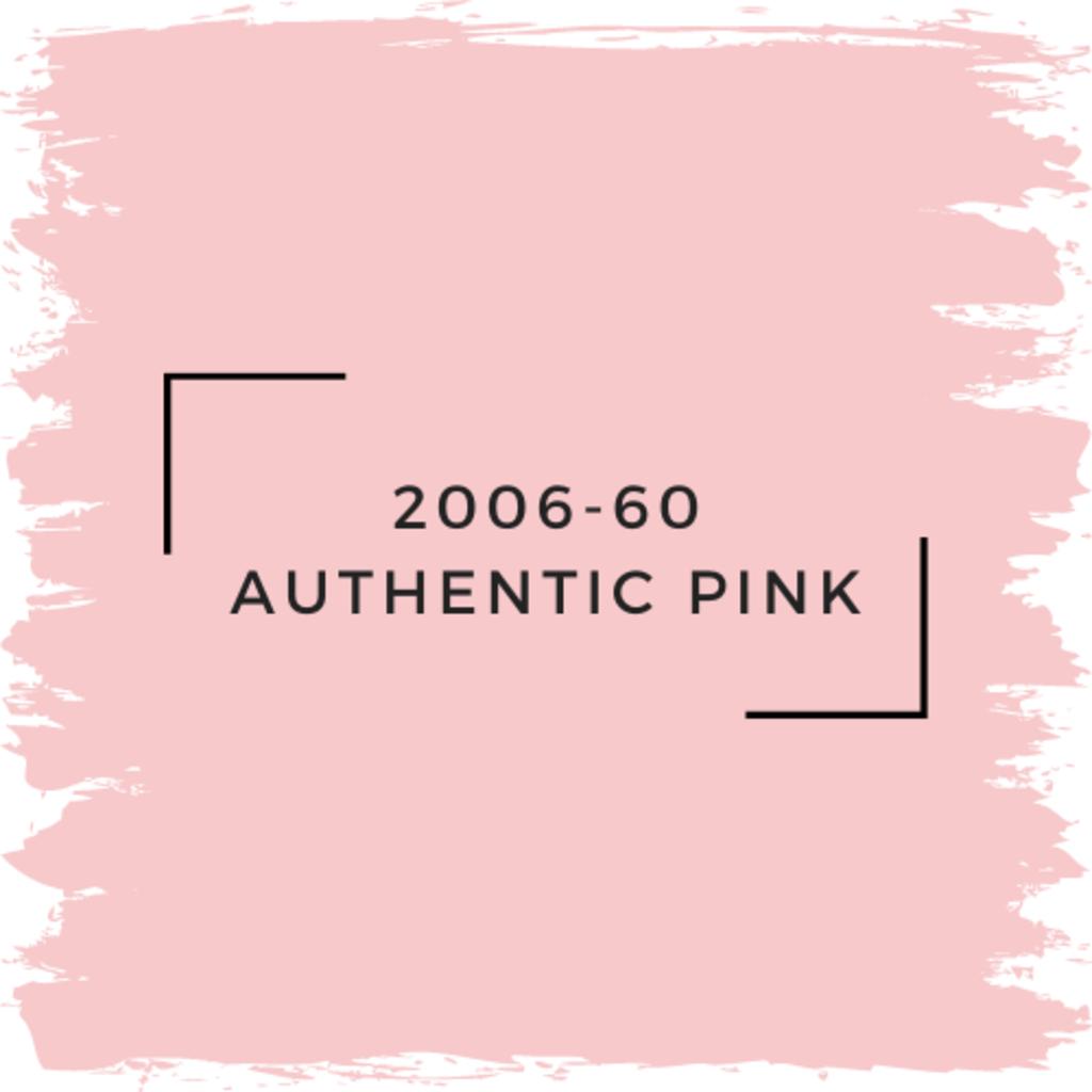 Benjamin Moore 2006-60 Authentic Pink