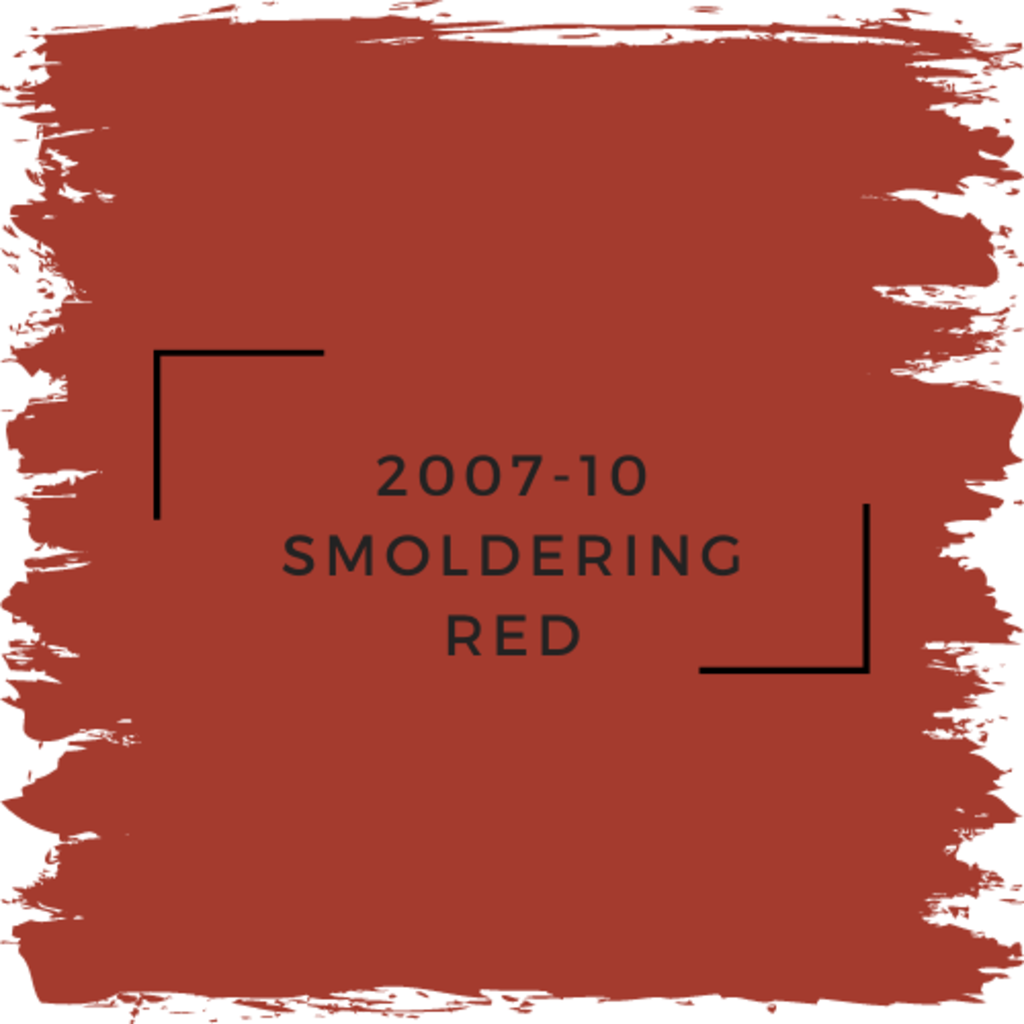 Benjamin Moore 2007-10 Smoldering Red