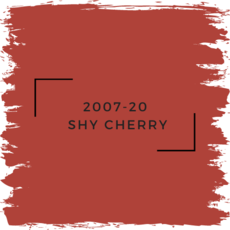 Benjamin Moore 2007-20  Shy Cherry