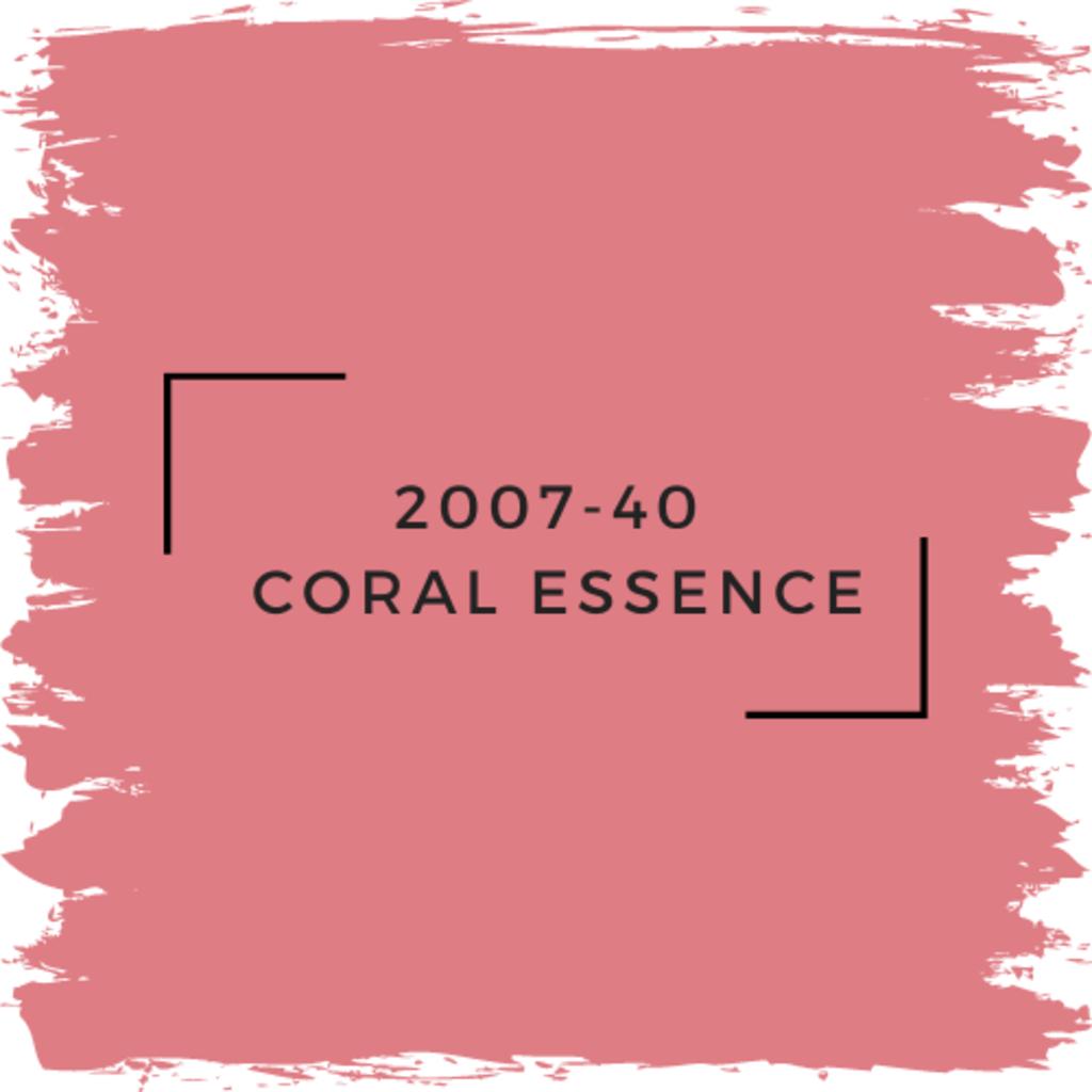 Benjamin Moore 2007-40  Coral Essence