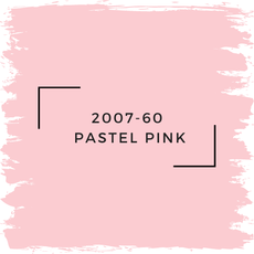 Benjamin Moore 2007-60  Pastel Pink