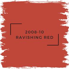 Benjamin Moore 2008-10 Ravishing Red