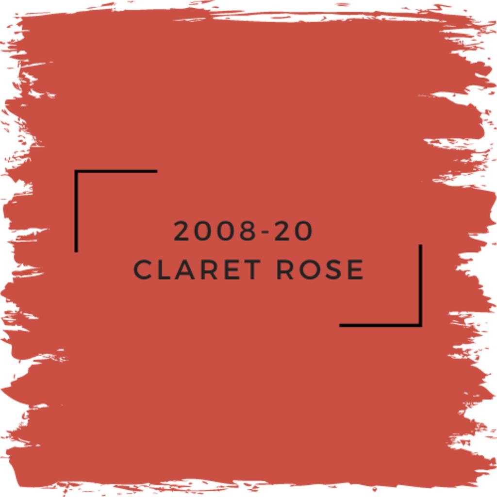Benjamin Moore 2008-20  Claret Rose