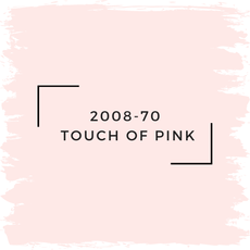 Benjamin Moore 2008-70  Touch Of Pink
