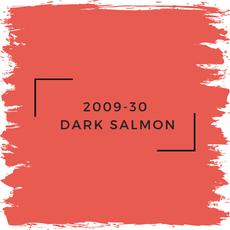 Benjamin Moore 2009-30  Dark Salmon
